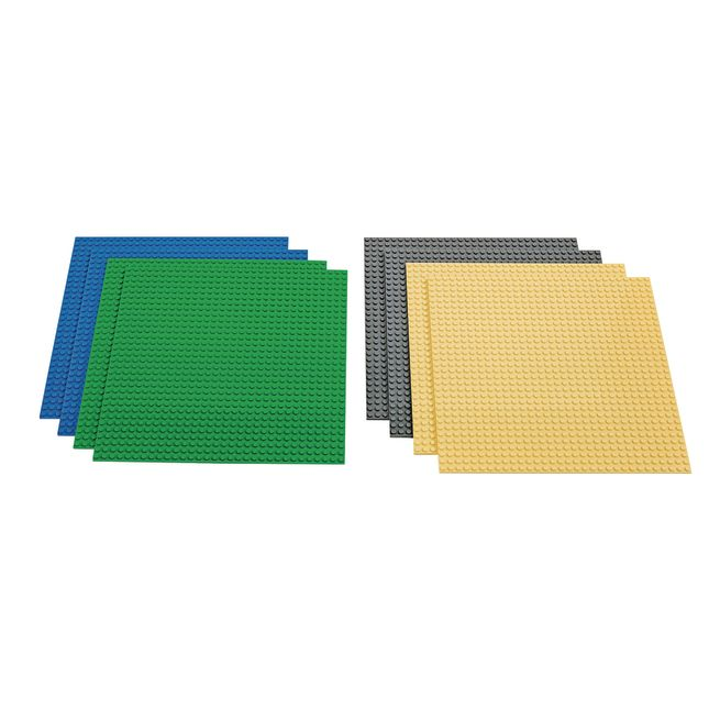 """Stackable Baseplates 10"""" X 10"""" - 8-Pack"""