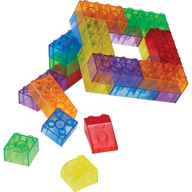 Excellerations® Translucent Standard Bricks - 810 Pieces