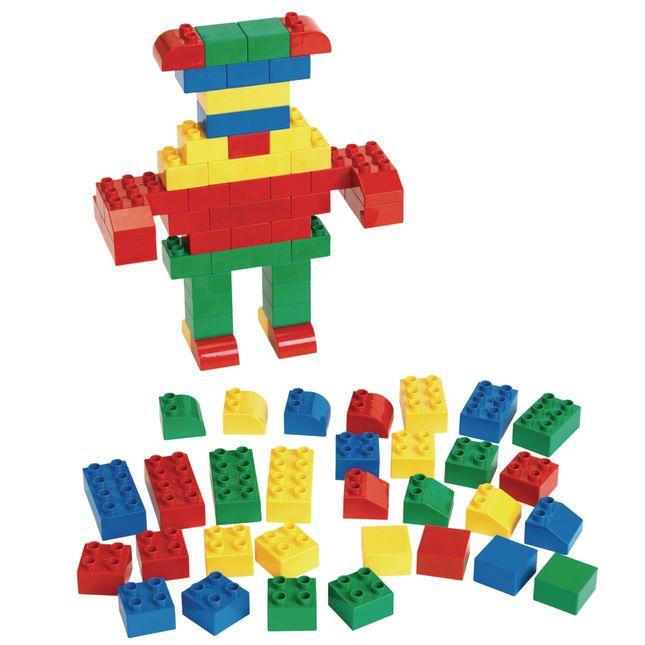 Excellerations® Junior Building Bricks - 280 Pieces
