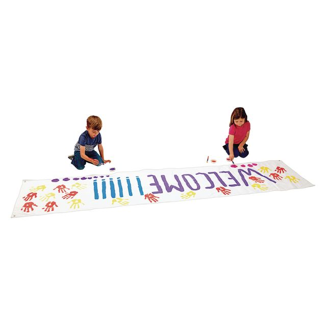 Colorations® Working Together Classroom Banner - 10' X 2'5""
