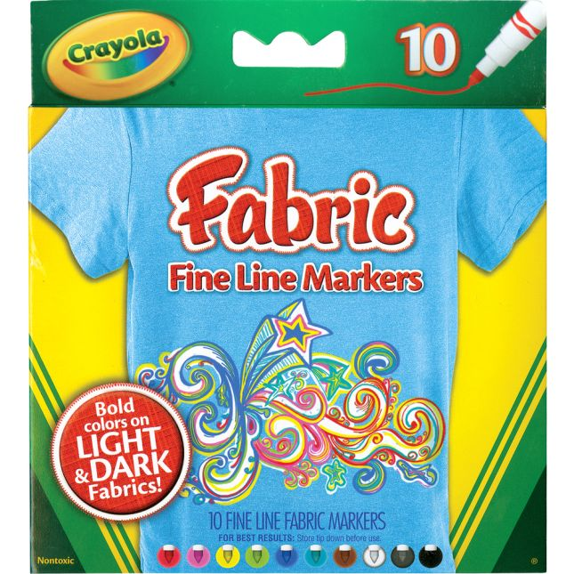 Colorations® Classroom Canvas Quilt With Markers - 12 canvas squares, 10 markers