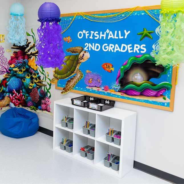 Ocean Theme Classroom Decor Kit