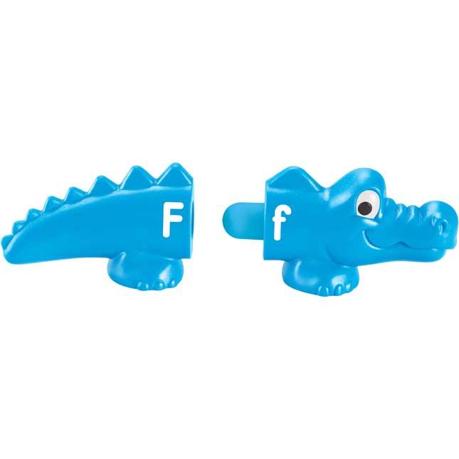 Snap-N-Learn™ Alphabet Alligators - 26 pieces