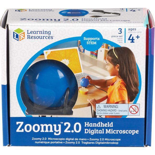 Zoomy™ 2.0 Handheld Digital Microscope - digital microscope