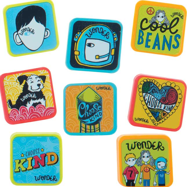 Wonder Square Erasers