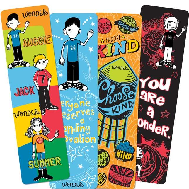 Wonder Bookmarks - 36 bookmarks