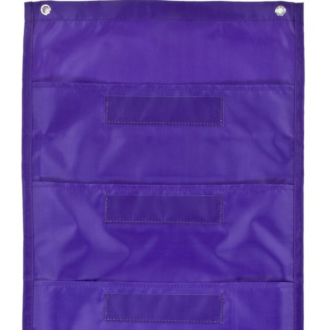 File Folder Storage: Purple Pocket Chart - 1 pocket chart