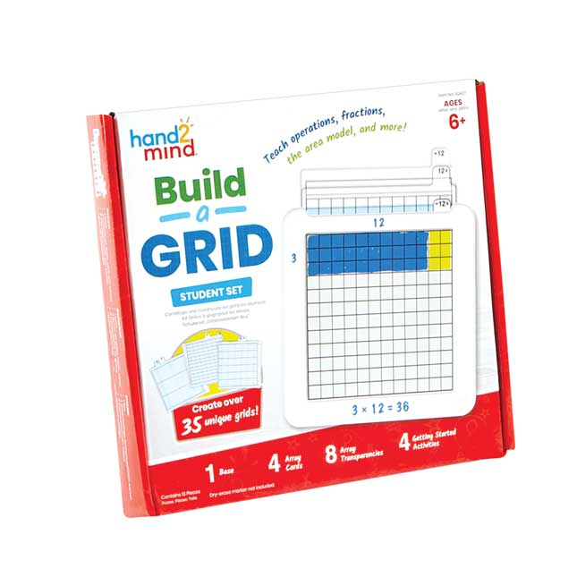 Build-A-Grid, Student Grid - 1 grid, 16 grid overlays