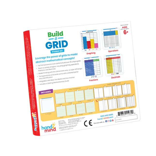 Build A Grid Student Grid   Set of 6