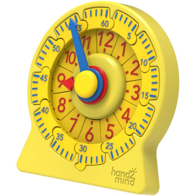 Number Line Clock Mini Student Clock   Set of 6