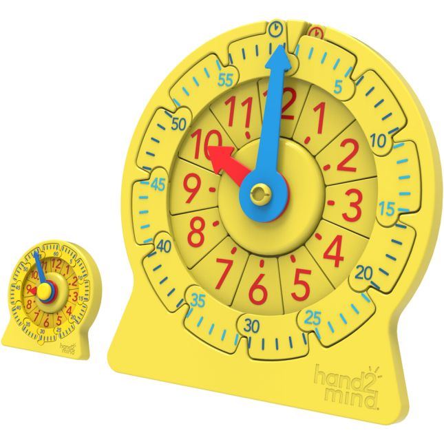 Number Line Clock, Magnetic Demonstration Clock - 1 clock