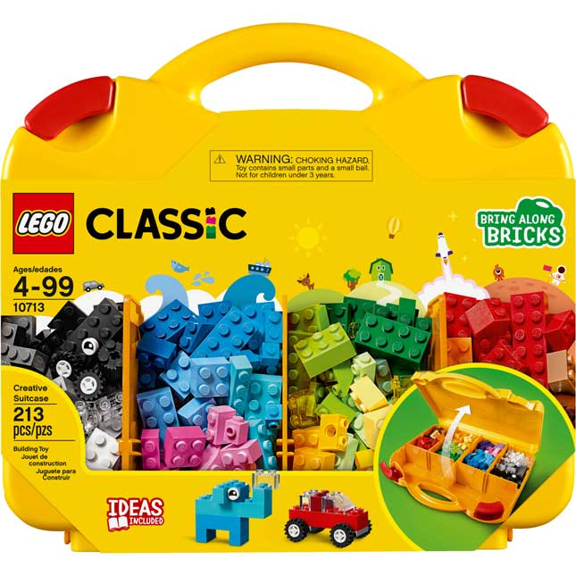 LEGO® Classic Creative Suitcases - Set of 4