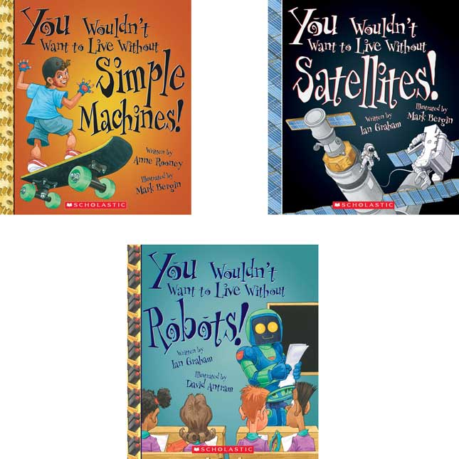 You Wouldn't Want To – STEM 5-Book Set