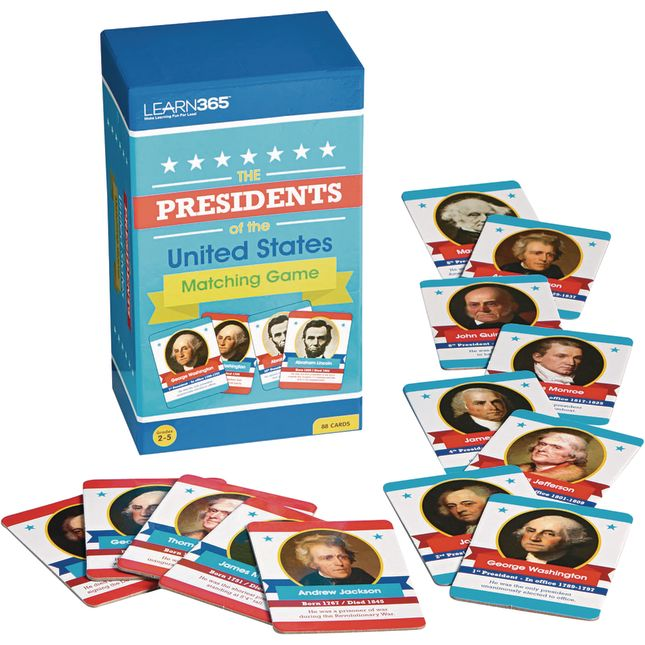 Presidents Matching Game - 1 game_0