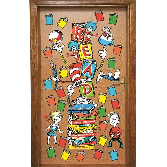 Dr. Seuss™ All-In-One Door Décor - 34 pieces