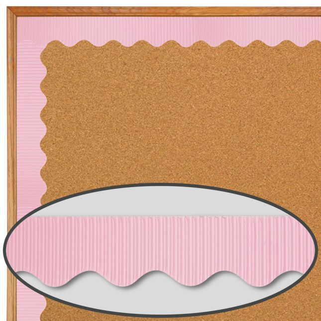 BORDETTE® Pink - 1 roll of trim