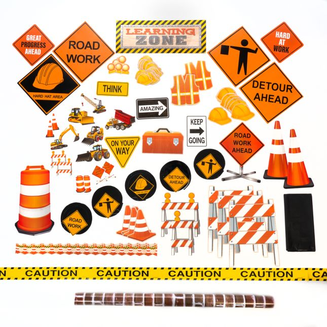 Construction Classroom Transformation Kit - 1 multi-item kit