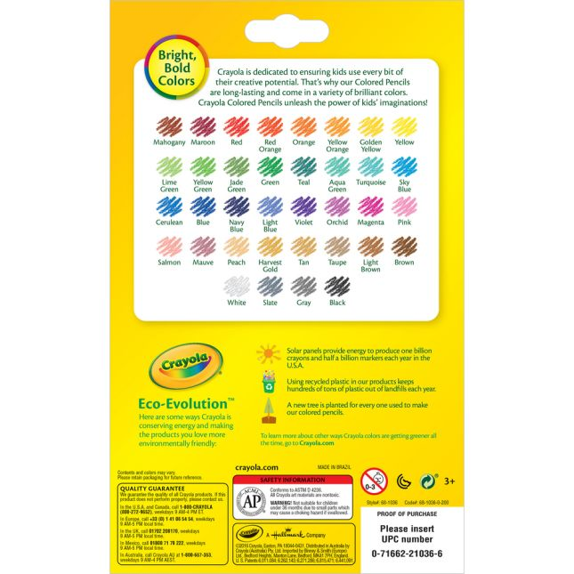 Crayola® Erasable Colored Pencils – Set Of 36_1