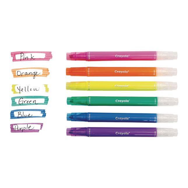 Take Note! Erasable Highlighters – Set Of 6