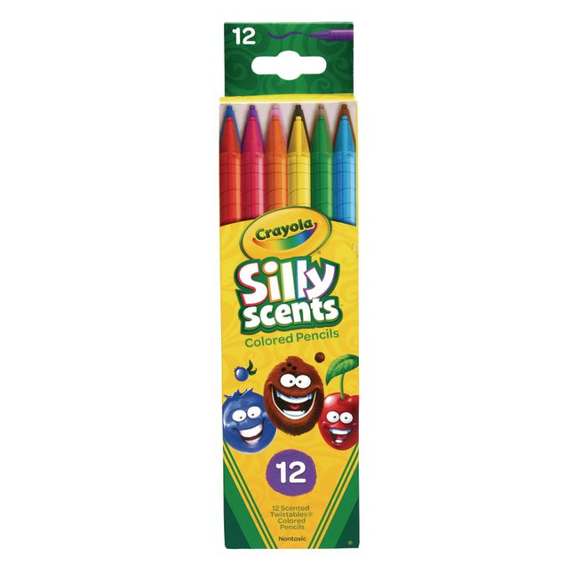 Crayola Silly Scents Colored Pencils  Set Of 12
