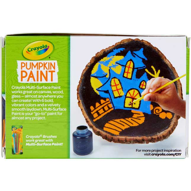 Crayola® Acrylic Pumpkin Paints – Set Of 6