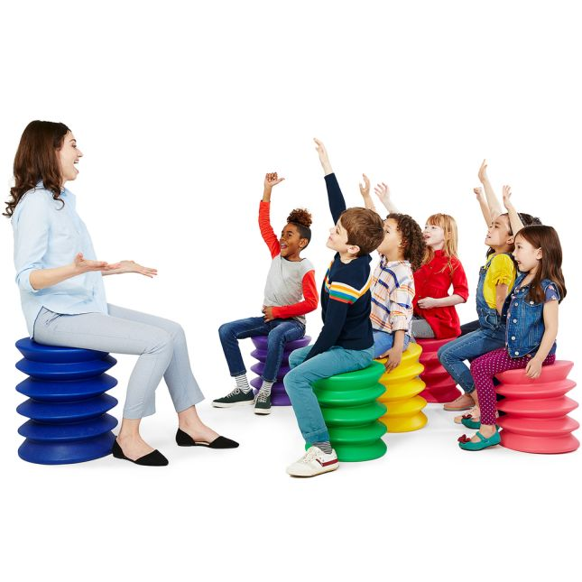 KidsErgo Flexible Seating – Blue - Orange