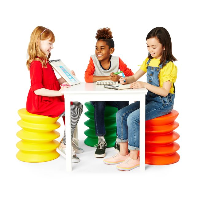 KidsErgo Flexible Seating – Blue - Yellow