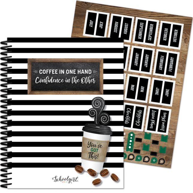 Industrial Café Teacher Planner