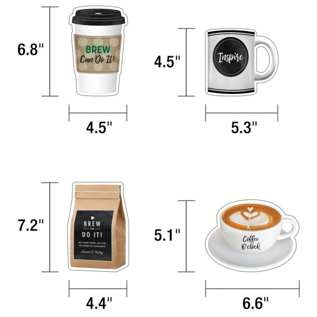 Industrial Café Morning Motivators Mini Bulletin Board Set_1