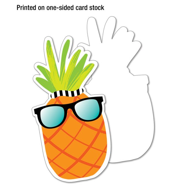 Simply Stylish Tropical Accents – XL Colorful Cutouts – Assorted