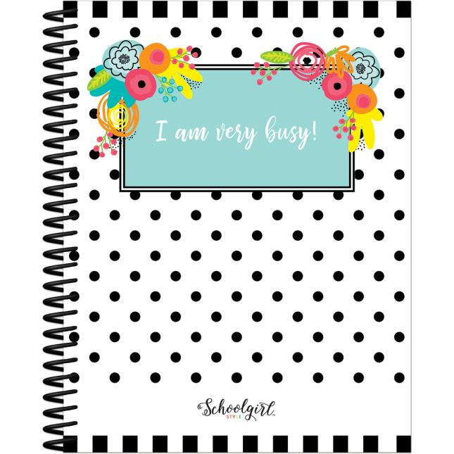 Simply Stylish Tropical Pineapple Teacher Planner - 1 planner, 46 stickers