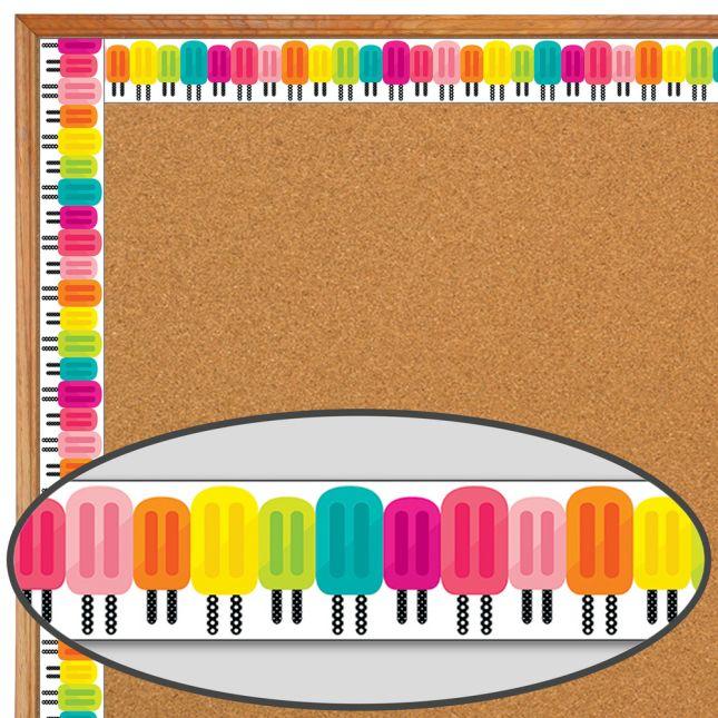 Simply Stylish Tropical Pops Border - 1 border trim