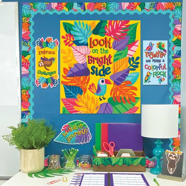 One World Motivational Mini Bulletin Board Set