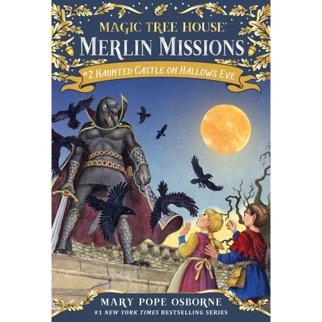 Magic Tree House Merlin Mission Book 2 Haunted Castle On Hallows Eve
