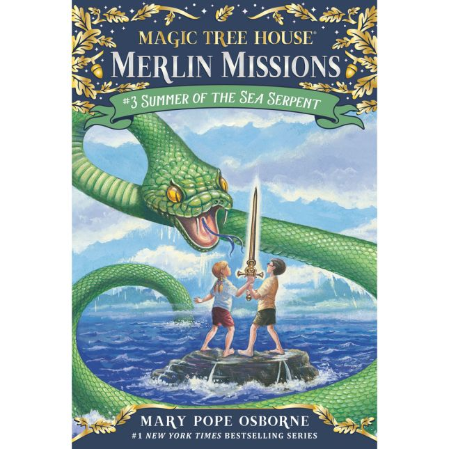 Magic Tree House Merlin Mission Book 3: Summer Of The Sea Serpent - 1 book