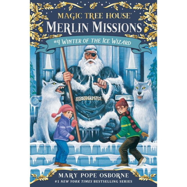 Magic Tree House Merlin Mission Book 4 Winter Of The Ice Wizard