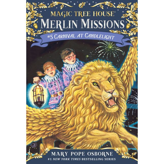 Magic Tree House Merlin Mission Book 5: Carnival At Candlelight - 1 book