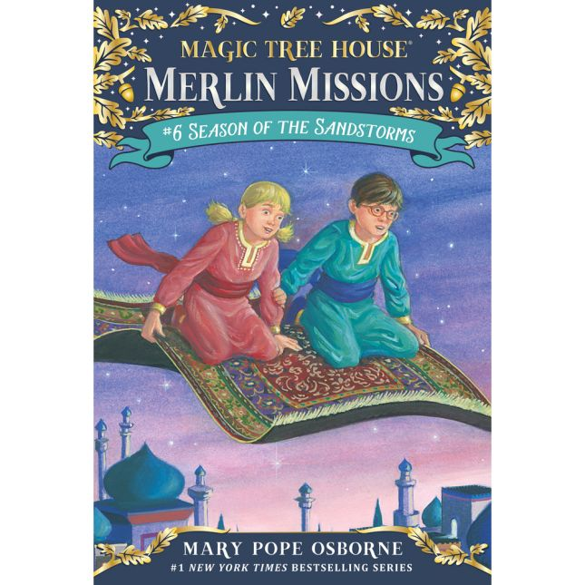 Magic Tree House Merlin Mission Book 6 Season Of The Sandstorms