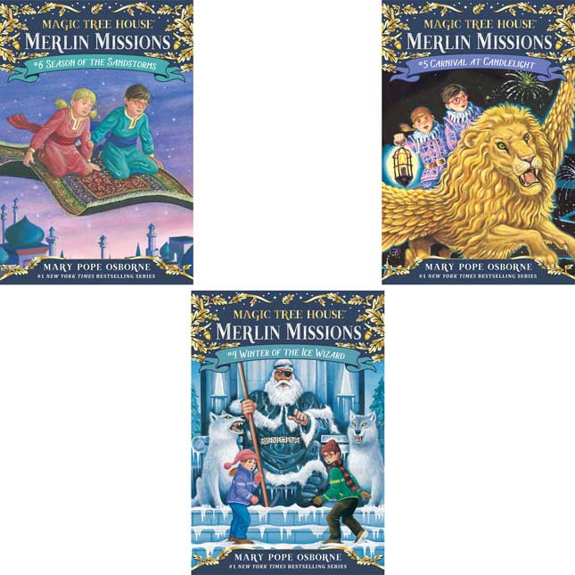 Magic Tree House Merlin Missions Set 1