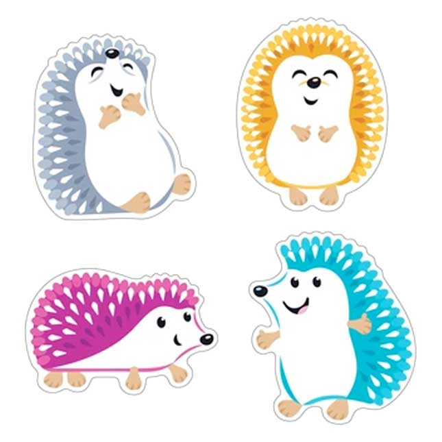 Colorful Hedgehogs Classic Accents