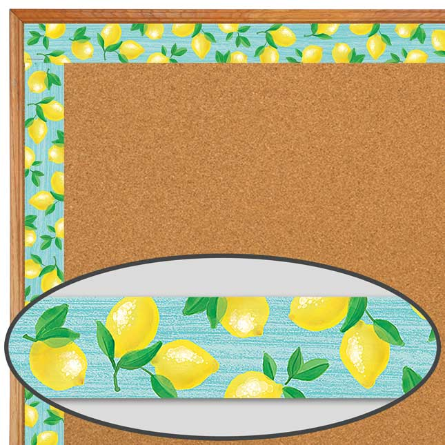Lemon Zest Straight Border Trim - 1 border trim