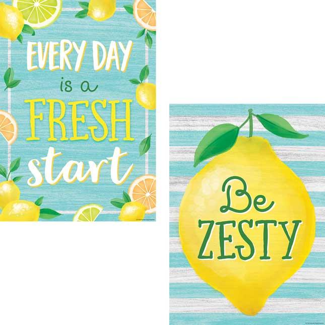 Lemon Zest Poster Pack