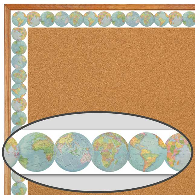 Travel The Map Border Trim Bundle