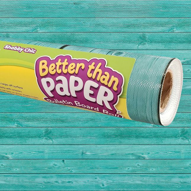 Better Than Paper Bulletin Board Roll  Shabby Chic Wood