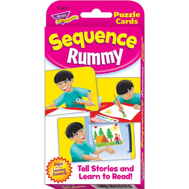 Sequence Rummy Challenge Cards - 56 cards