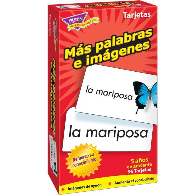 Spanish Flash Cards Bundle - 4 sets of flash cards