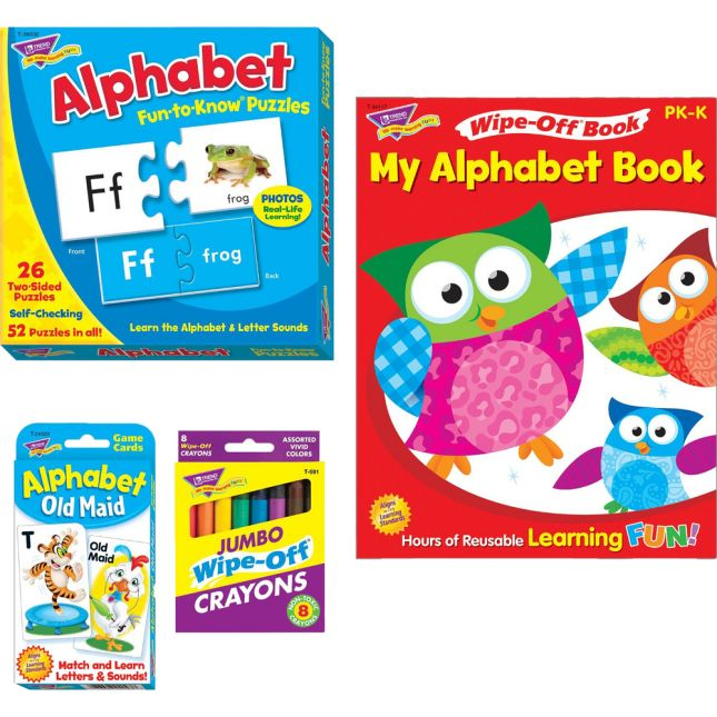 Alphabet Learning Fun Pack