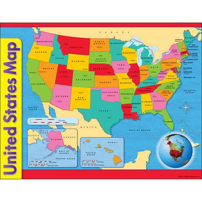 Reading A U.S. Map Kit