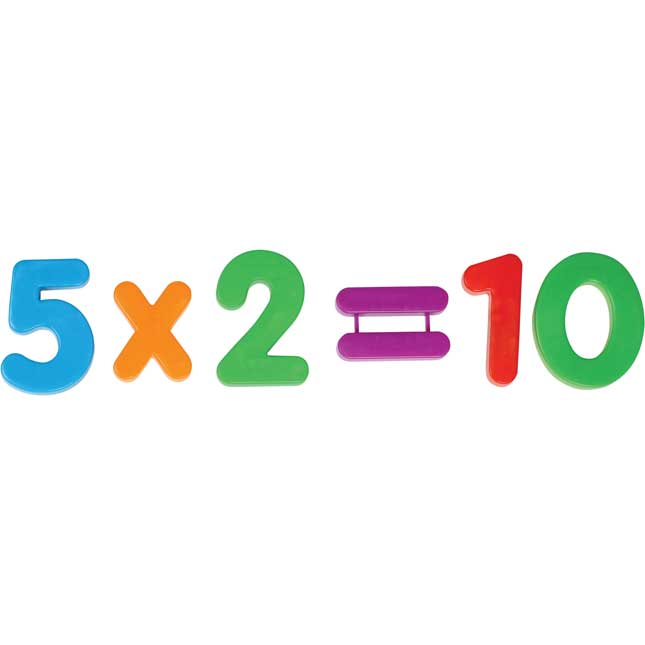 Jumbo Magnetic Numbers and Operations