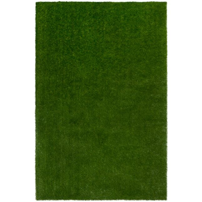 GreenSpace Artificial Grass Area Rug 4  By 6  Rectangle
